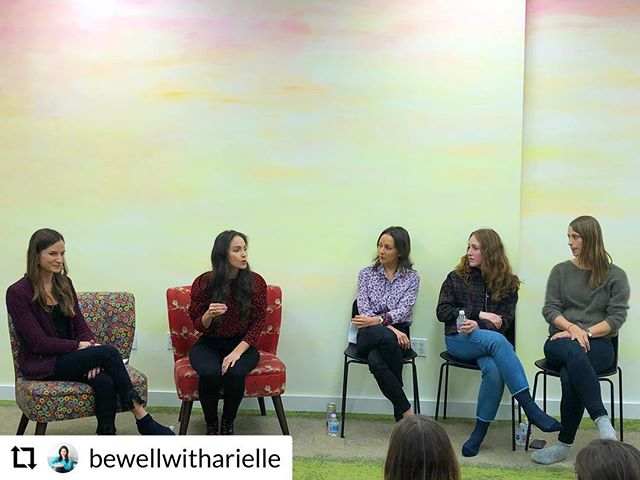 Thanks to @bewellwitharielle for having us at this great event!  #RepostPlus - - - - - - My heart is full after co-hosting last night's kids nutrition event ♥️🥗🍒 Moms, pediatric nurses and occupational therapists walked away with more confidence, tips during mealtime struggles and tricks to feed picky eaters. Thank you @momommies @spantirer @sharawagowski @nsilbereats @unionsquareplay for the laughs, inspo and realness! To watch the event, go to bewellwitharielle.com/kidsnutritioneventrecap. And stay tuned for the next #stayingsane event on Dec 10th! Book your babysitters now and in the meantime, sprinkle on those chia seeds 😉🥦🥑👊