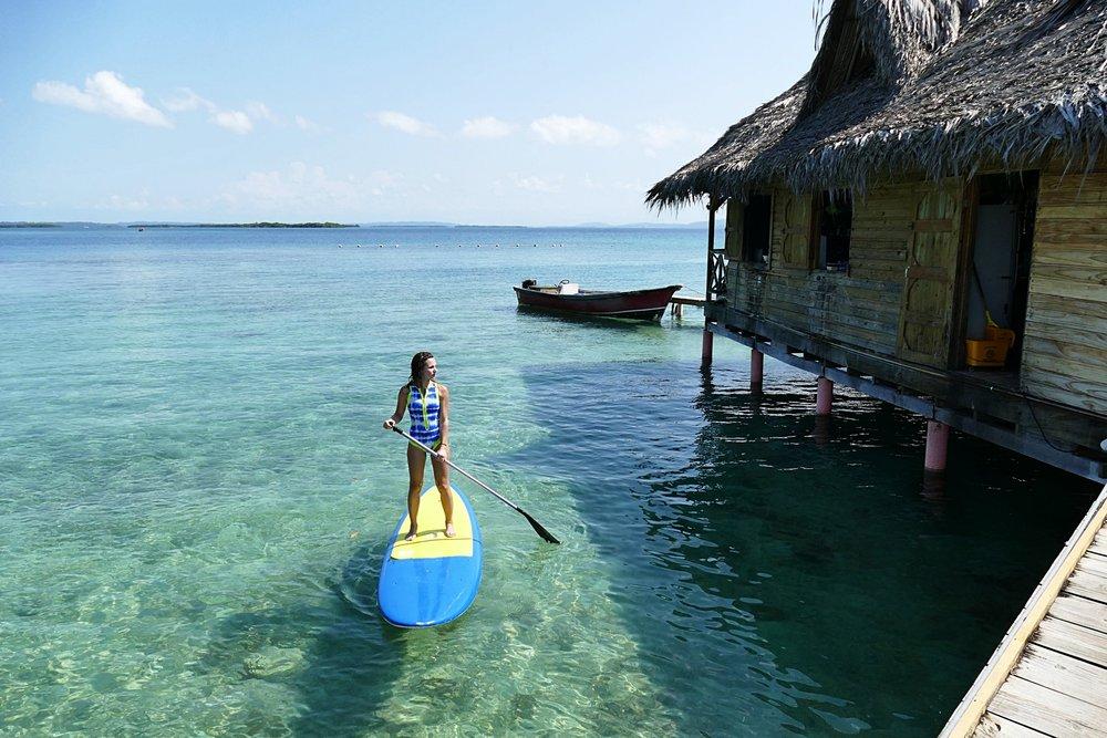 Paradis couleurs Caraïbes, Isla Solarte, Bocas del Toro, Panama - Swimwear : Glidesoul