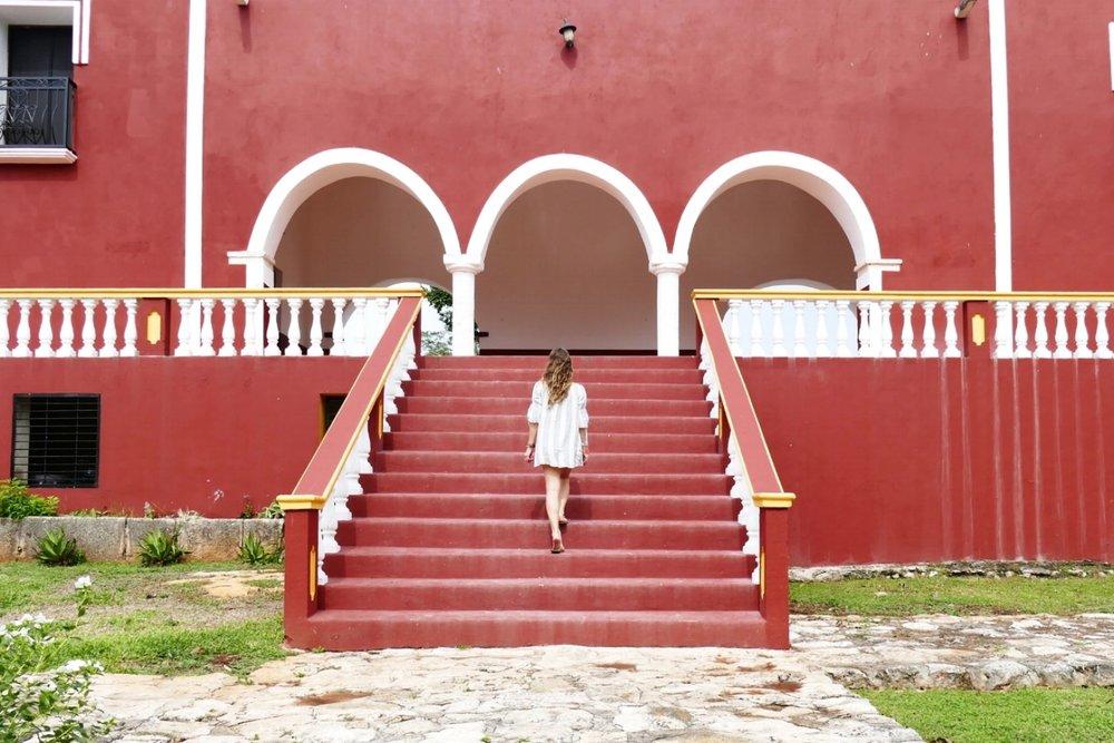 Hacienda San Lorenzo Oxman - Valladolid - Mexique