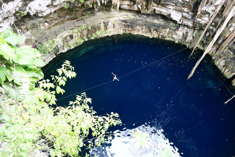 Cenote Oxman - Valladolid, Mexique