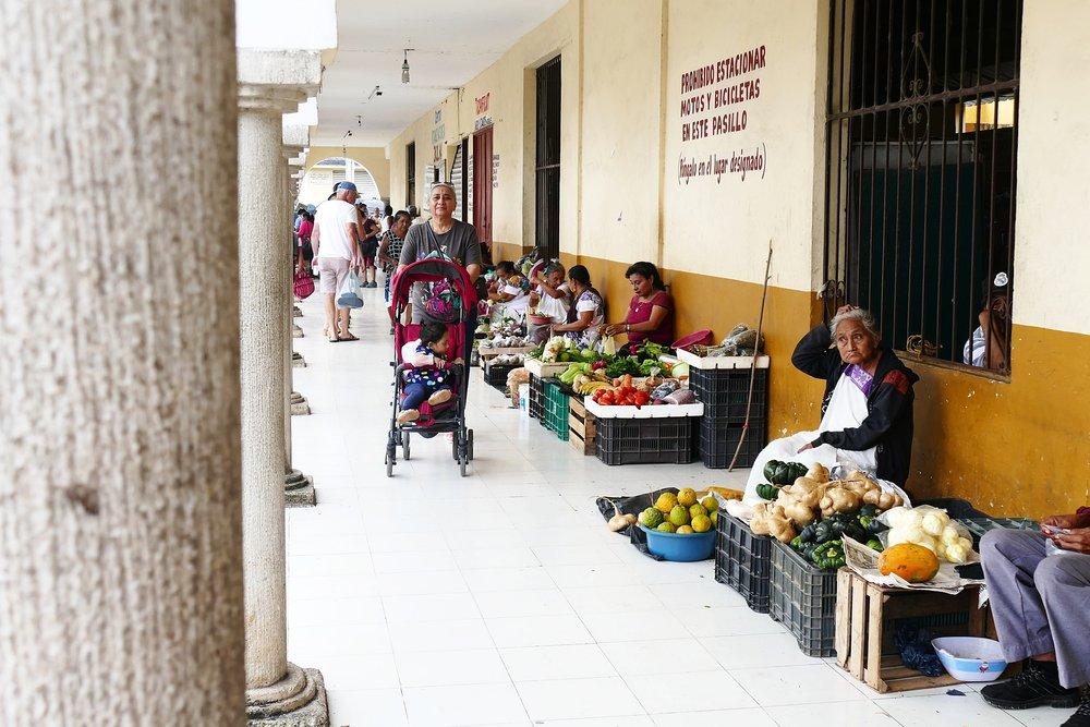 Marché de Valladolid, Mexique