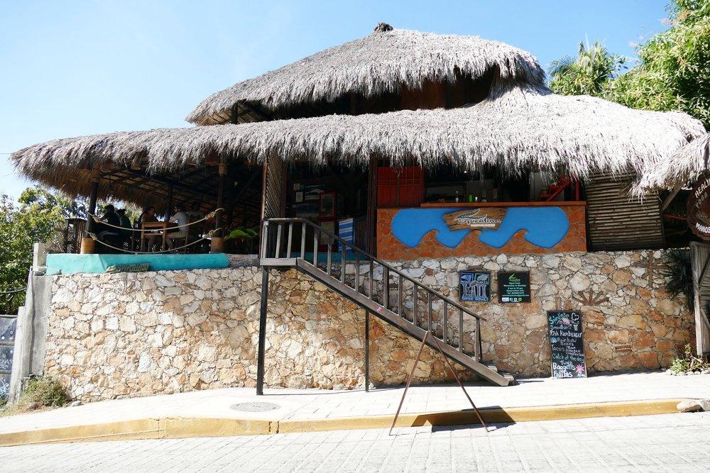 Restaurant Spirulina, Puerto Escondido