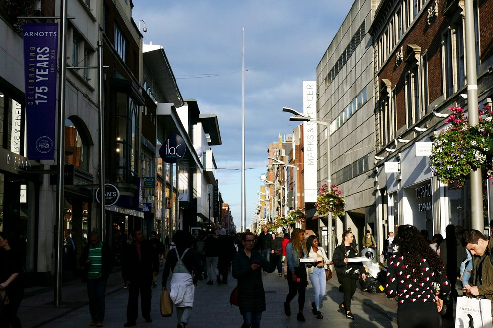 Jervis Street - the Spire