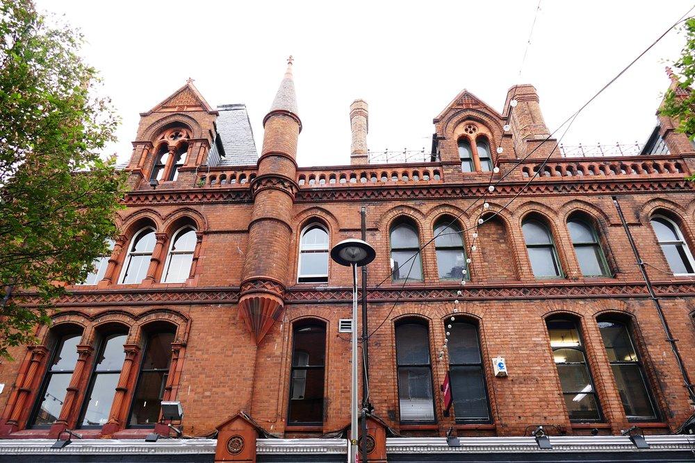 Architecture géorgienne, Grafton Guesthouse, Dublin, Irlande.