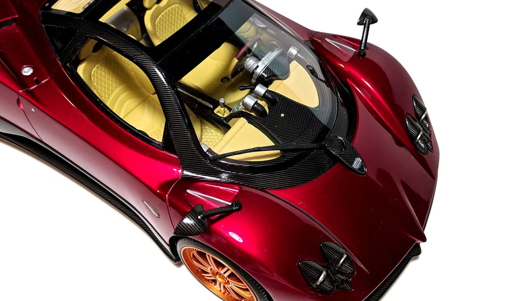 Honorable mention: Pagani Zonda F, by Top Speed