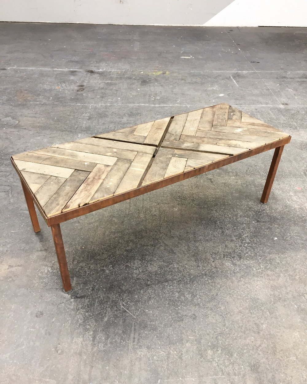 - Table basse upcyclée