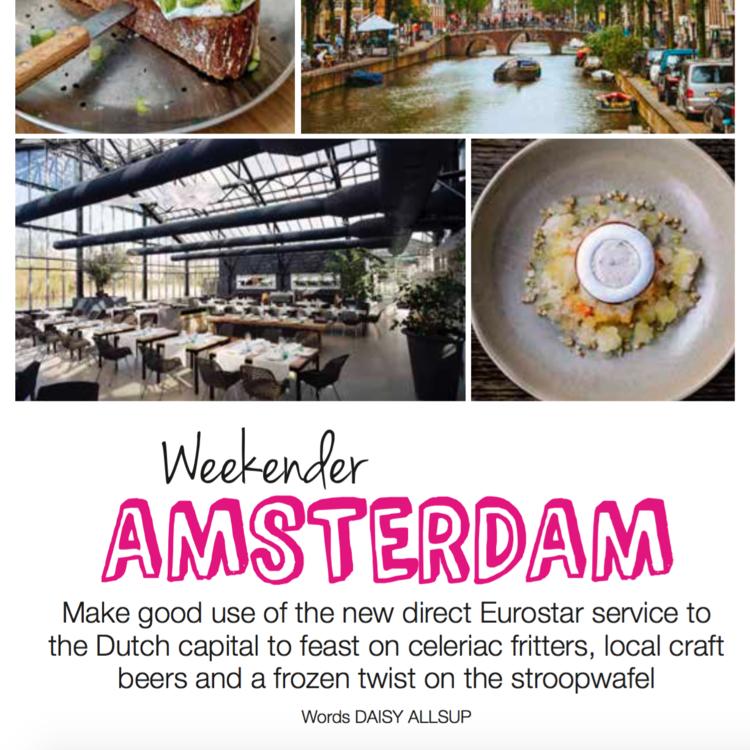 Weekender Amsterdam,  Olive magazine , eco issue June 2018