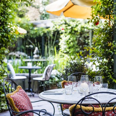 London Restaurants with Gardens,  A Little Bird , July 2018