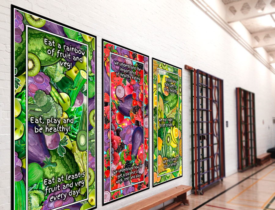 Healthy Eating Artwork For Schools