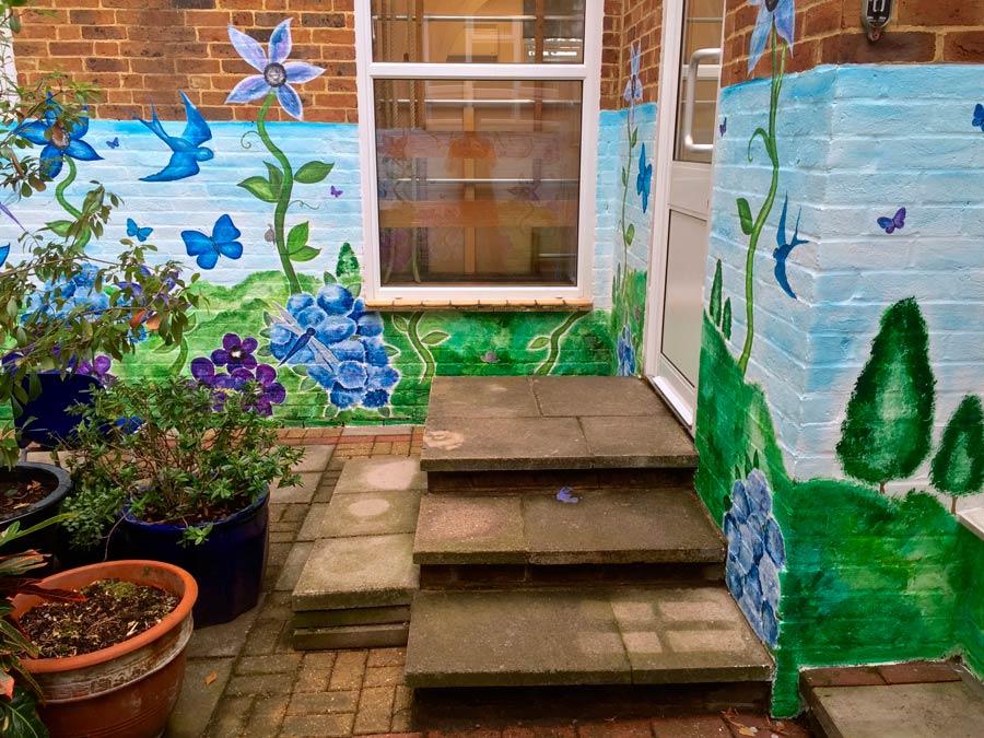 Garden Mural
