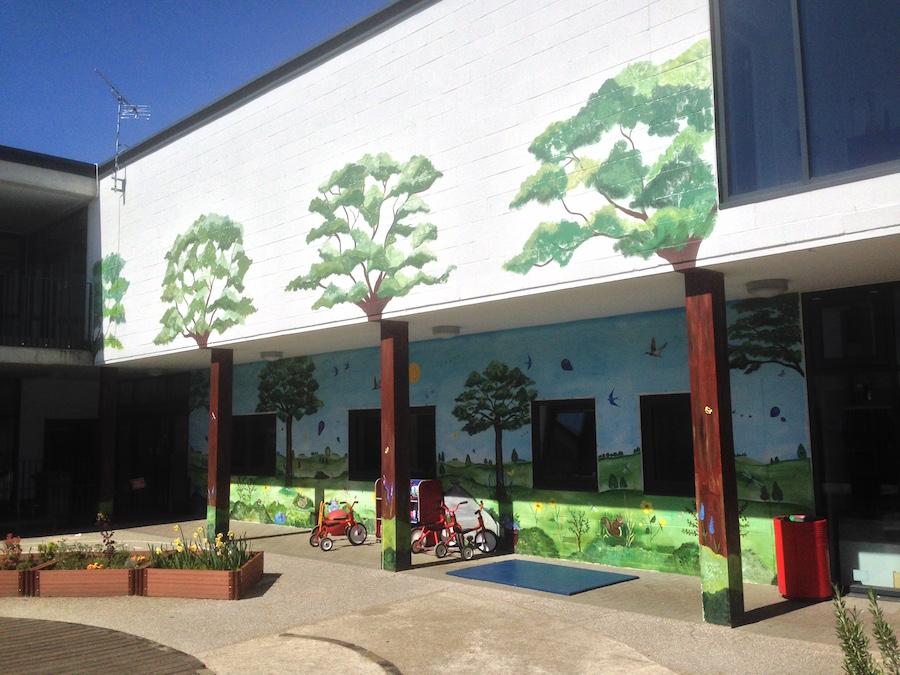EYFS Mural