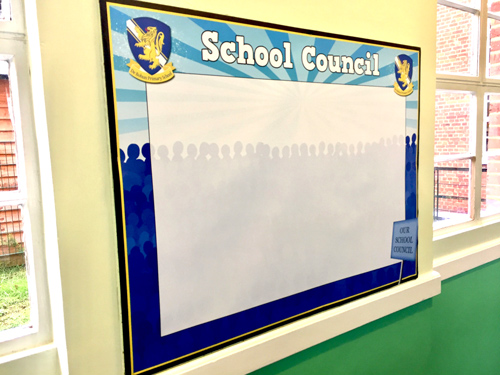 School Council Display