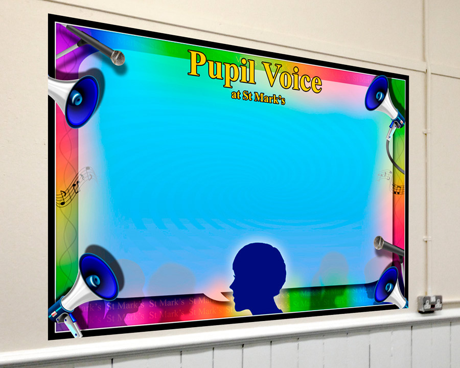 Pupil Voice Corridor Display