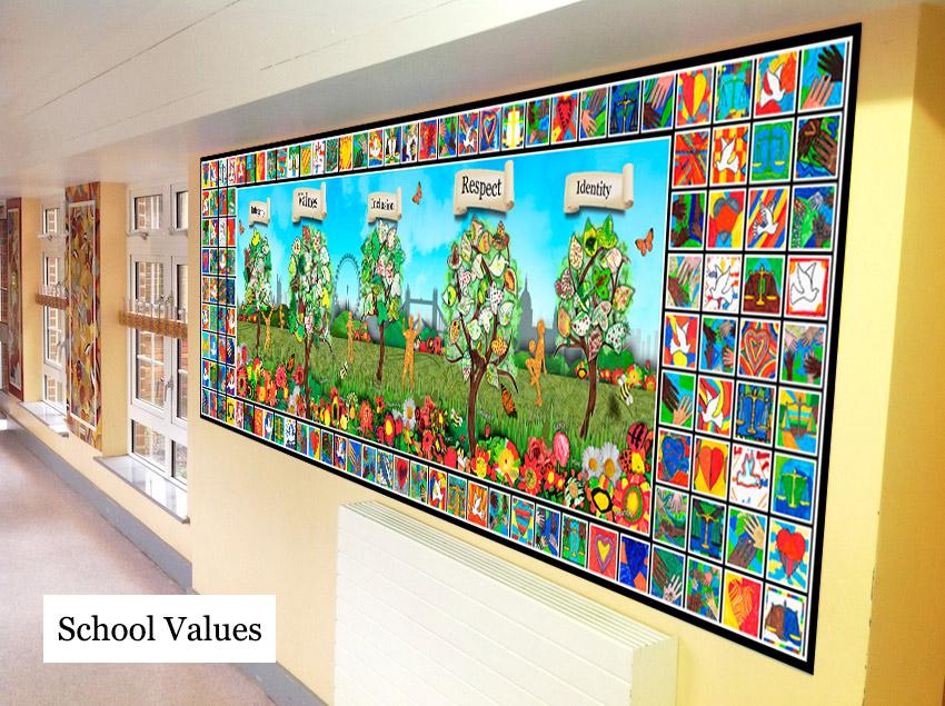 School Values Display