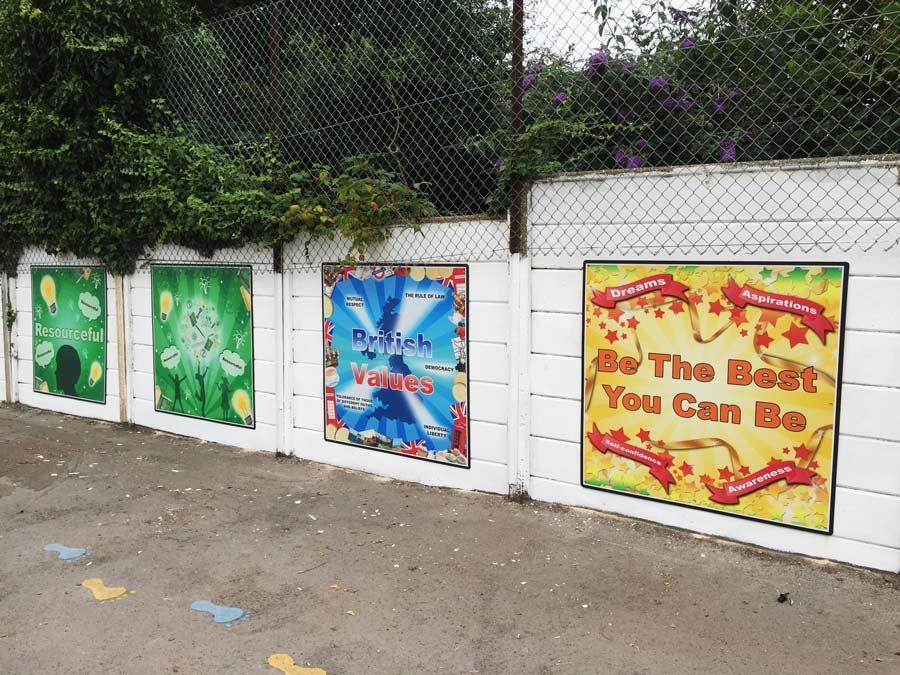 School Values Playground
