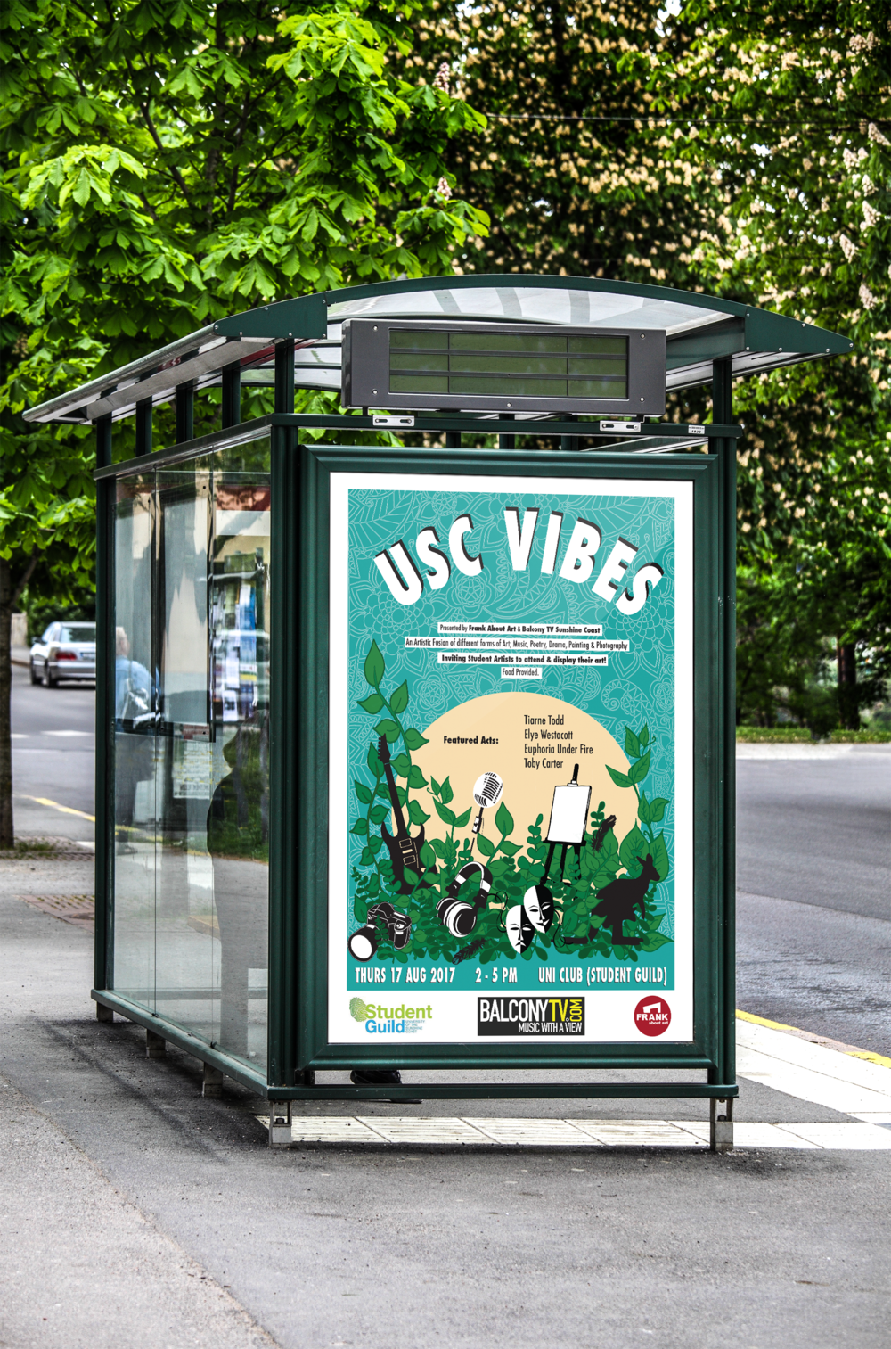 USC VIBES Poster Design