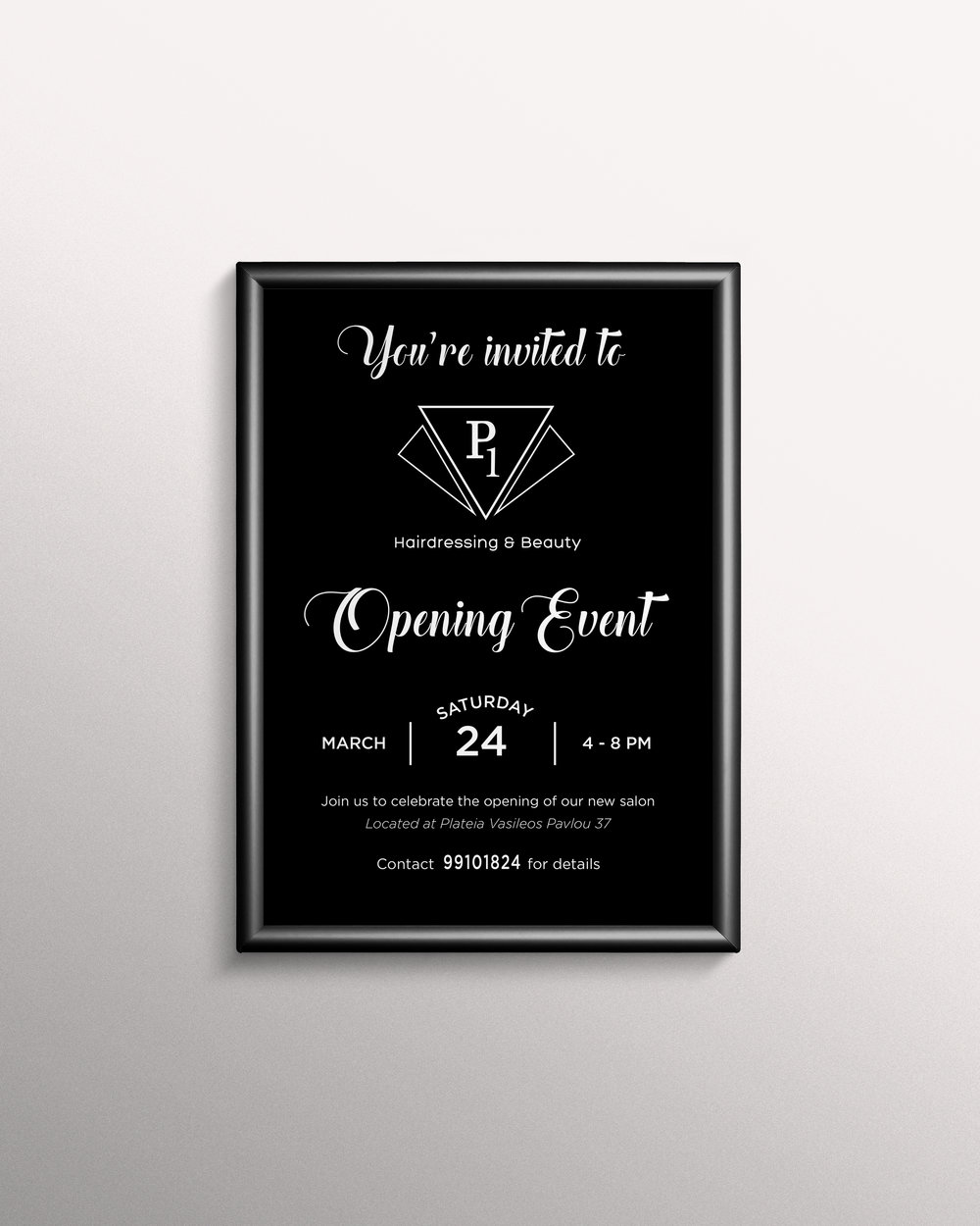 Opening Event Poster / Invite