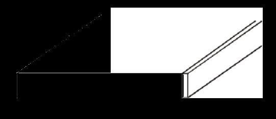 Edging Strip  3000mm x 40mm x 6mm