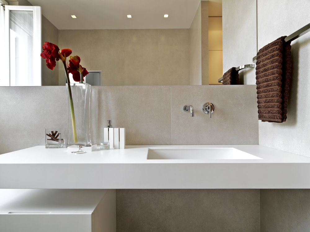 Bathroom Bowls & Basins - Discover our cast bathroom sinks, bowls and basins can complete your home. These sinks also offer the same premium quality, bacterial resistant and easy to clean and maintain.They can be under-mounted which gives you a perfectly integrated bathroom design.