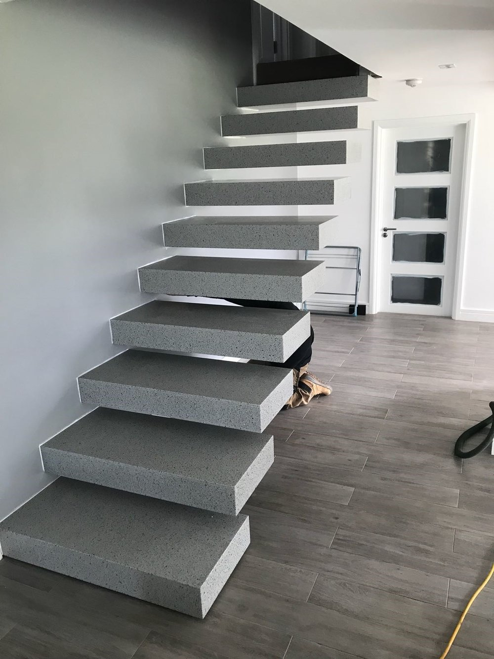 Grise Stairs