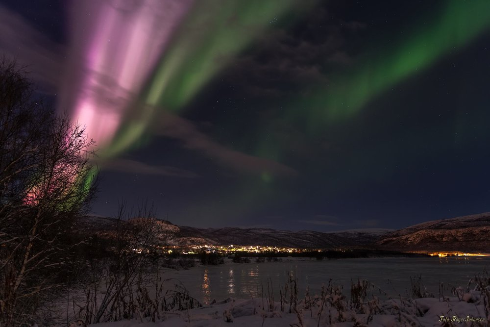 Extreme Aurora Activity 22.11.2017.Photo: Roger Johansen