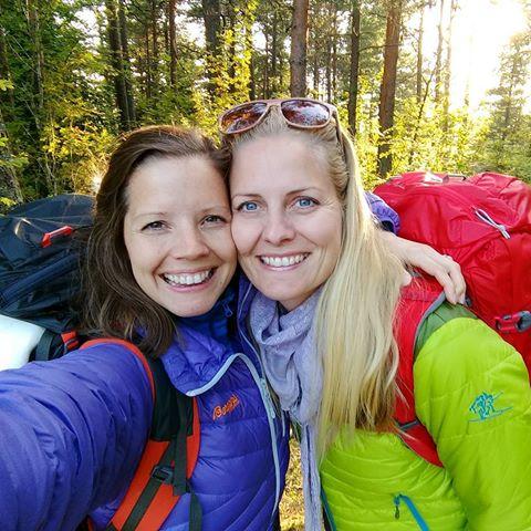 Tursøstrene: Hege og Stine Schultz Heireng. Foto: Privat