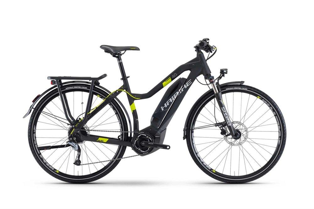 E-bike rental. Haibike Sduro Trekking 4.0