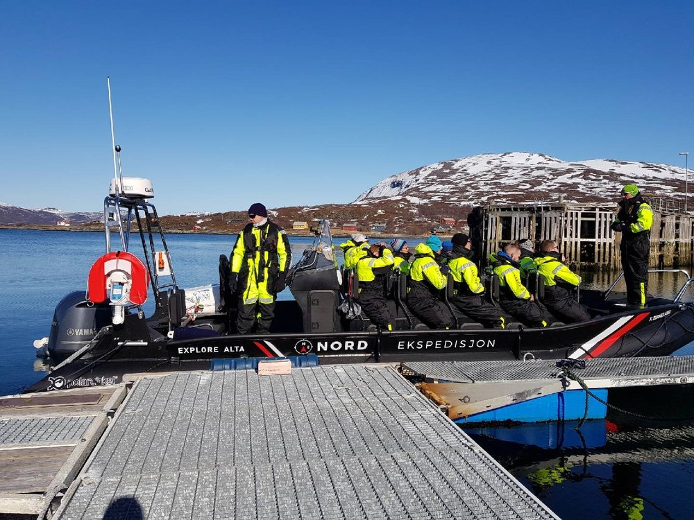 FJORD SAFARI BY RIB - Join our RIB safari in the surrounding areas of Altafjord