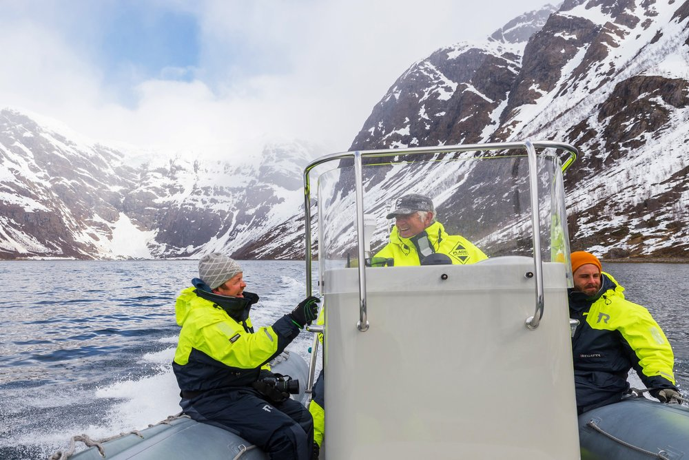 EXPLORE THE WILDFJORDS AND THE GLACIER - WITH RIB