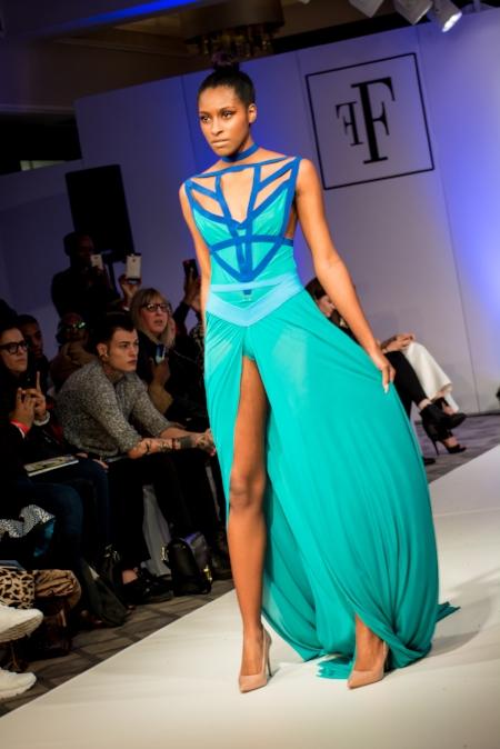 Designer :  Olya Sookie  Model:  Kiane Ashman-Swaby