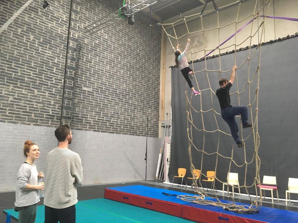 Taken during 'unlearning aerial' workshop, IACC Limerick.