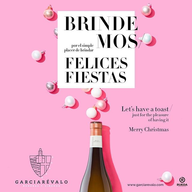 Desde Bodegas Garciarevalo, les deseamos a todos Feliz Navidad y prospero 2019.#dorueda #winelovers #matapozuelos