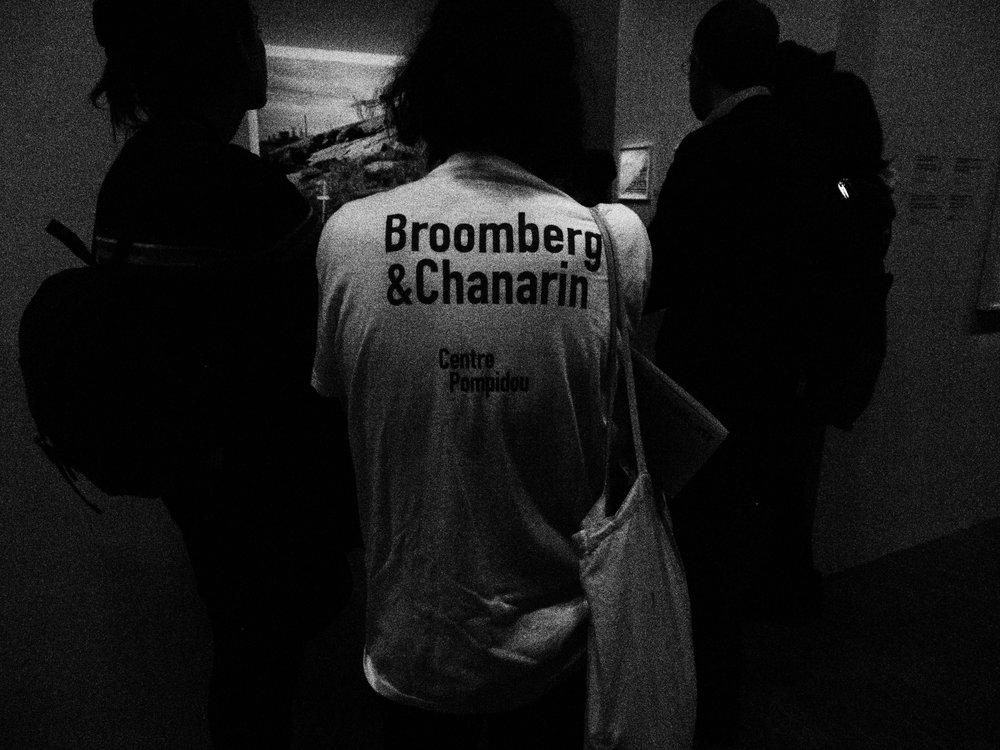 "Photo of ""B&C Tshirt"" at the concurrent David Goldblatt exhibition"