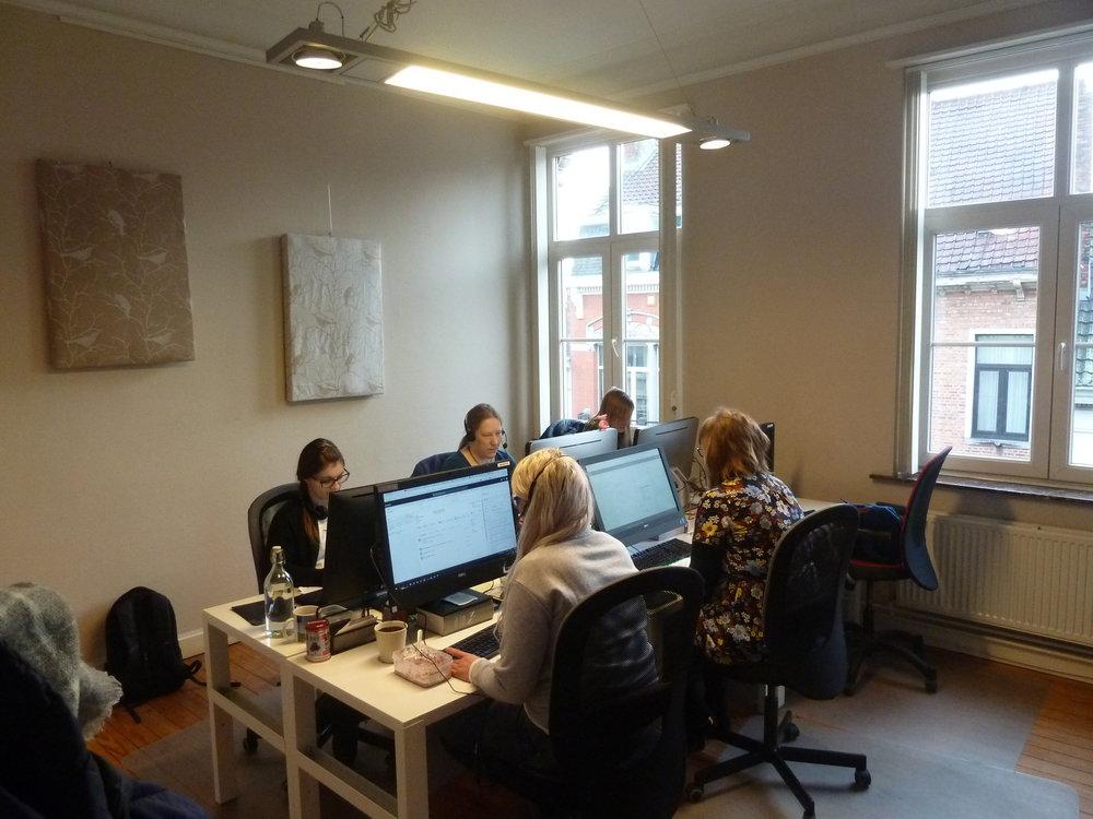 Bureaux Individuels - Prix entre €400 et €1500/mois