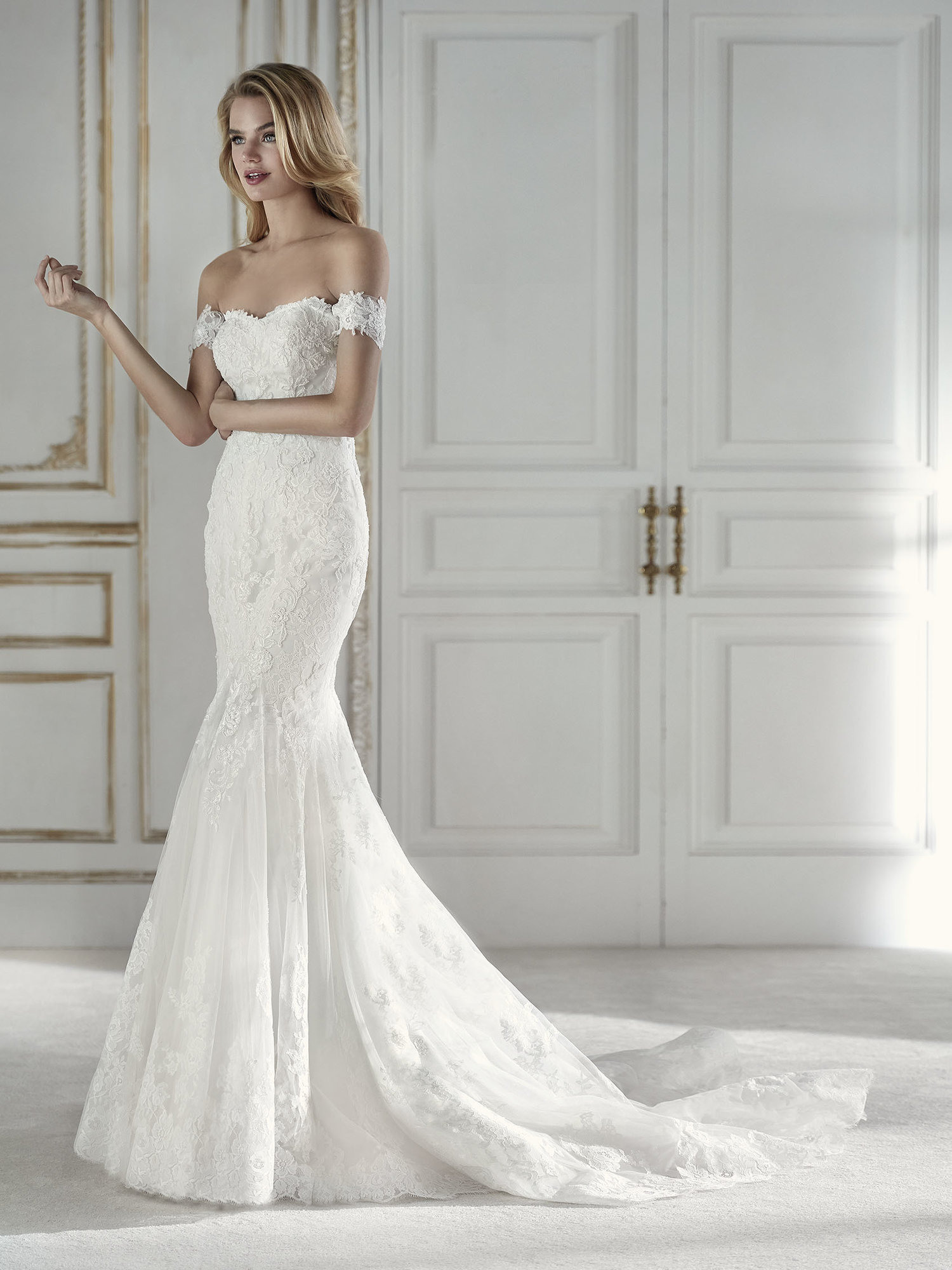 wedding gown — blessed brides