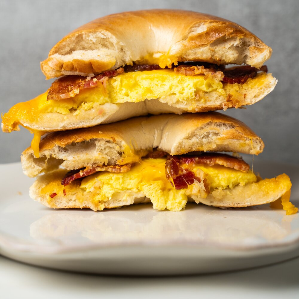 Egg, Cheddar and Bacon