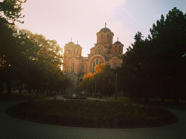 #beograd #tasmajdan #jesenubeogradu #crkvasvetogmarka