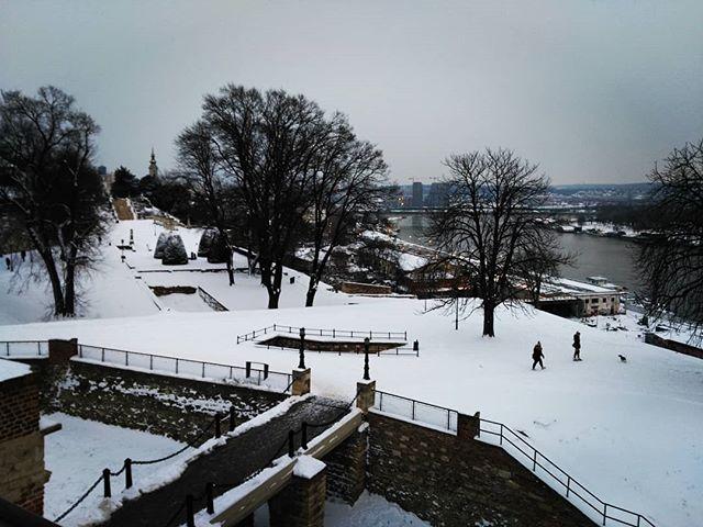 #beograd I #sneg #zimajošnijegotova