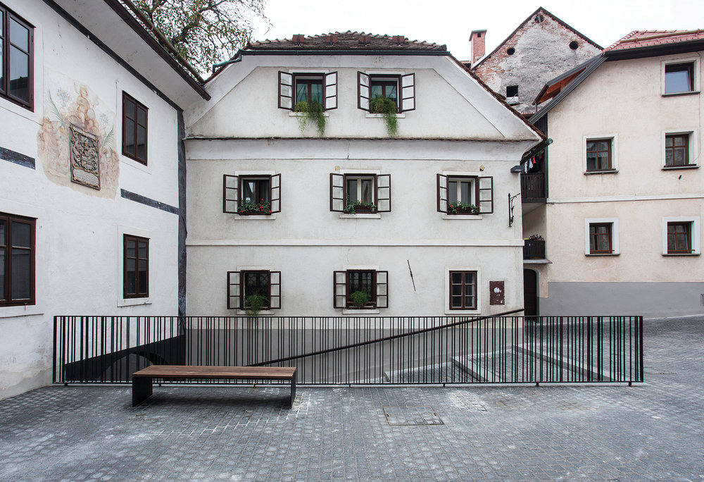 RENOVATION OF CANKAR SQUARE AND BLAŽEVA STREET IN ŠKOFJA LOKA  September 2014