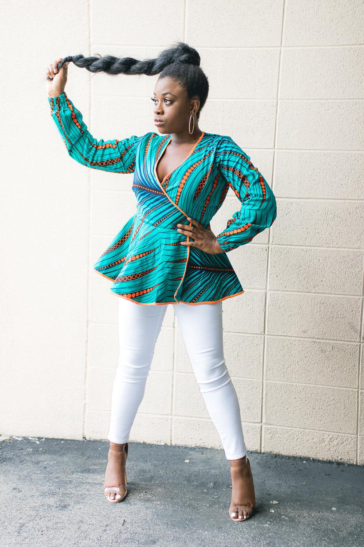 kayelleafricanprint