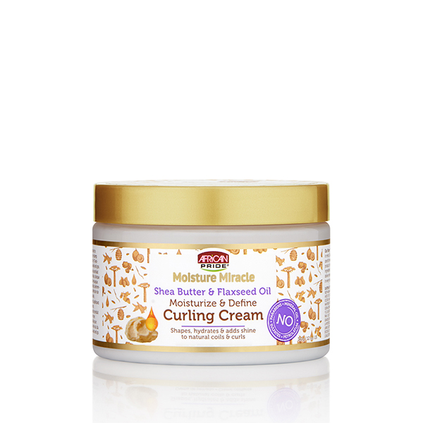 Shea Butter & Flaxseed Oil Curling Cream