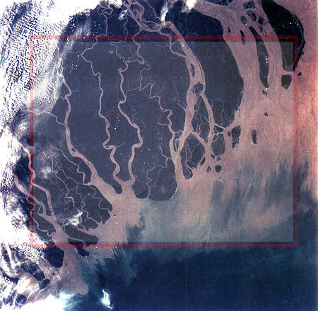 Ganges River Delta, Bangladesh.  - source: Wikipedia