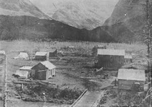 Town of Altyn 1888-1902, Glacier Park Archives