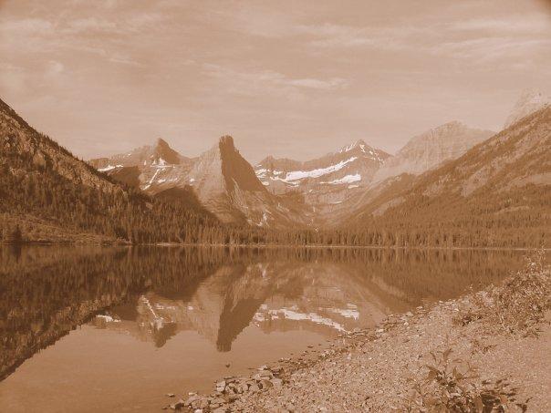 The quiet shores of Cosley Lake. Photo Sanford Stone.