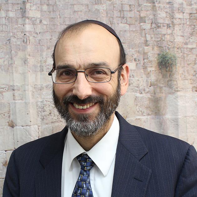 Rabbi Zehnwirth - Head of School