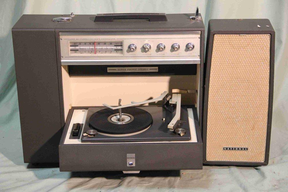 Portable radiogram