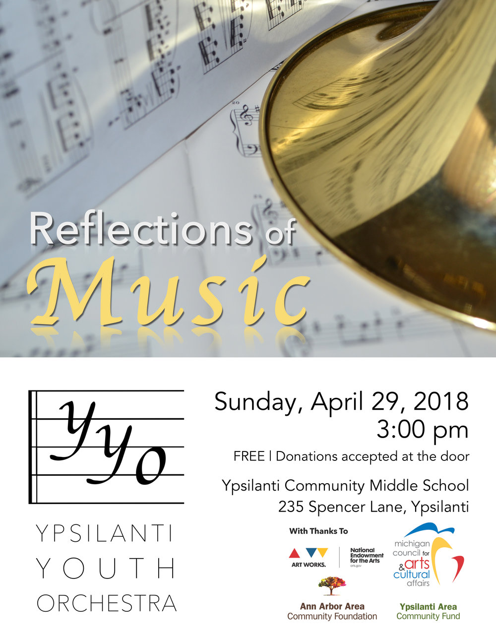Reflections of Music | April 29, 2018
