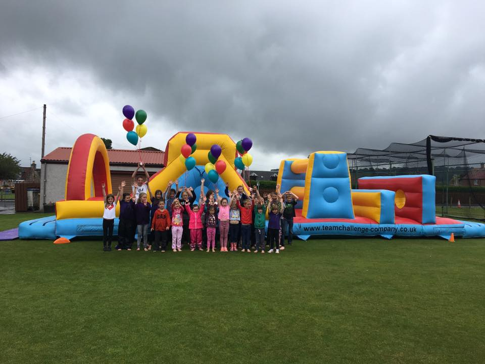Inflatable madness