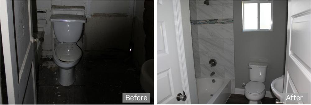 bathroom renovation investment property