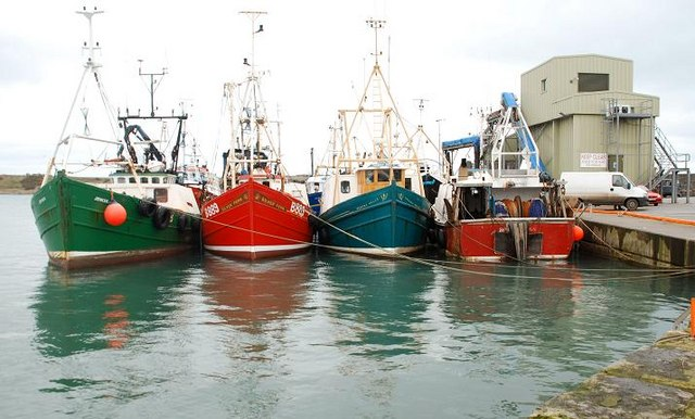 McGarry Consulting secured the first (EFF) FLAG funding for local fishing communities in NI